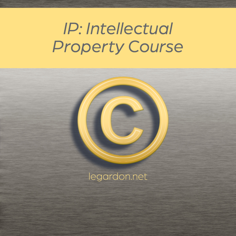IP: Intellectual Property course