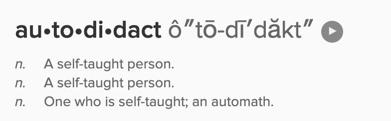 autodidact definition
